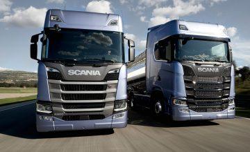 scania új jármű