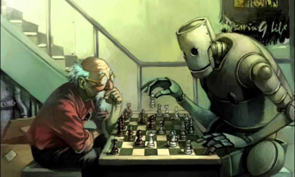 abb robot sakkozas szemmozgatassal