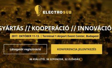 Electrosub 2017 konferencia