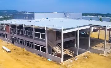 fanuc székház épitkezés 2017