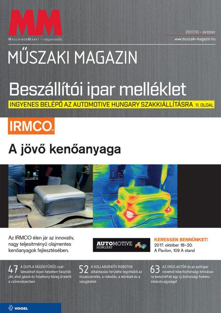 MM Műszaki Magazin 2017 10 cimlap