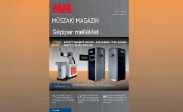 Megjelent a MM Műszaki Magazin 2017 novemberi lapszám
