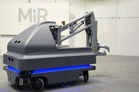 Újgenerációs mobil robotok