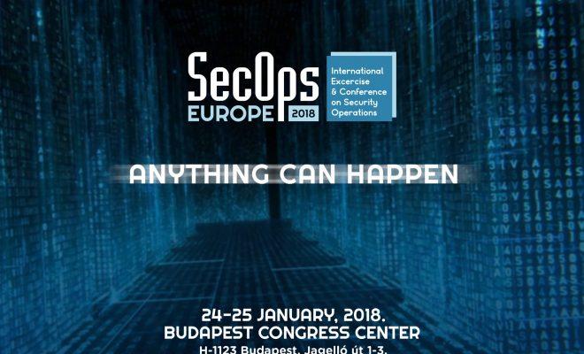 """Képtalálat a következőre: """"A SecOps Europe 2018 IT-Biztonsági"""""""