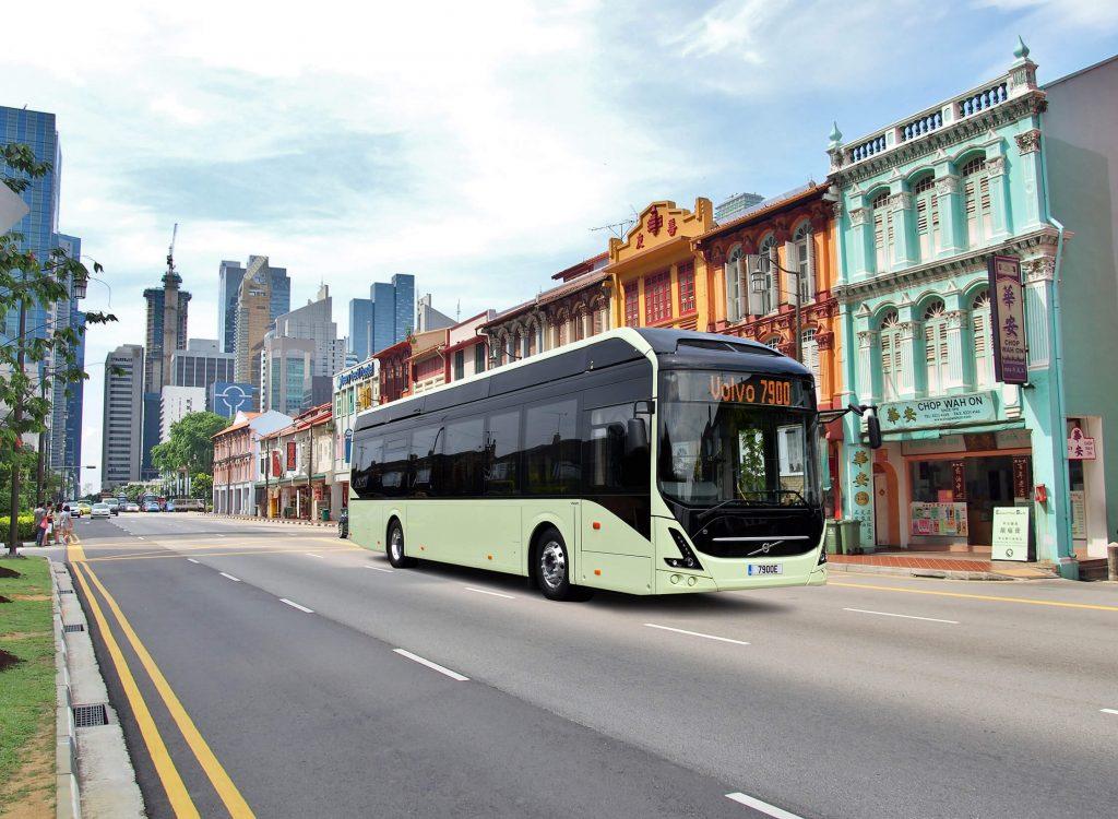 Önvezető elektromos buszok