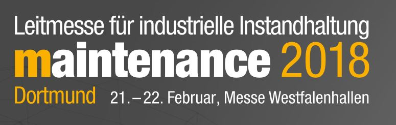 maintenance 2018 dortmund kiállítás