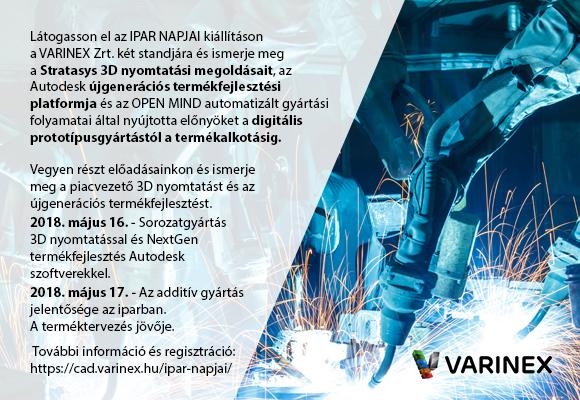 Varinex Ipar Napjai 2018
