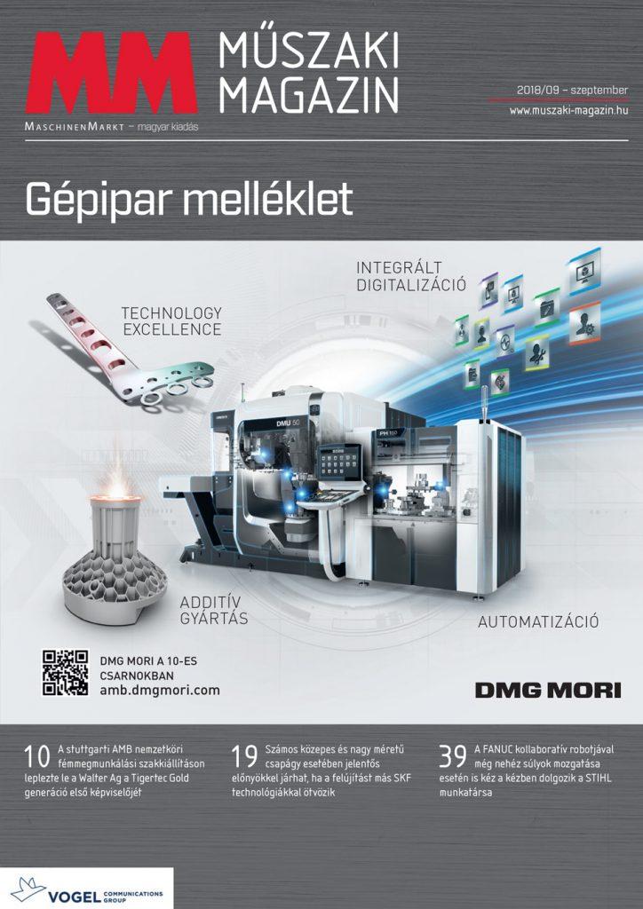 MM Műszaki Magazin 2018 9 címlap