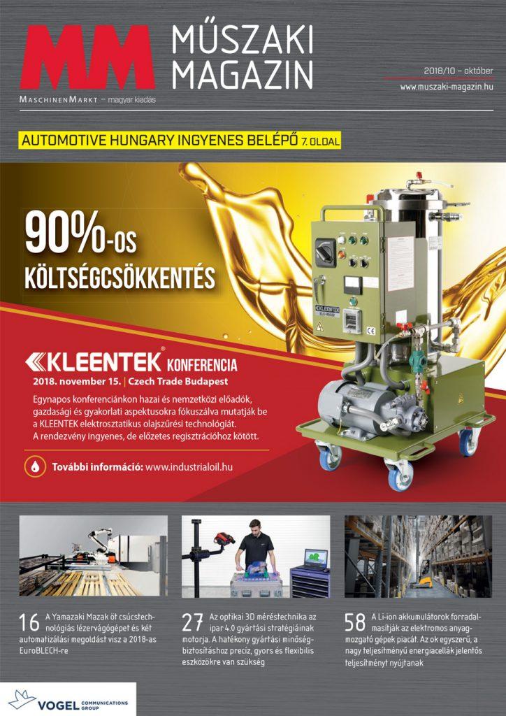 MM Műszaki Magazin 2018-10 lapszám