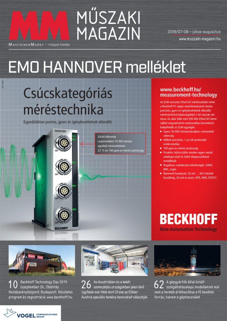 MM Műszaki Magazin 2019-7-8 címlap