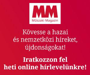 Műszaki Magazin hírlevél feliratkozás