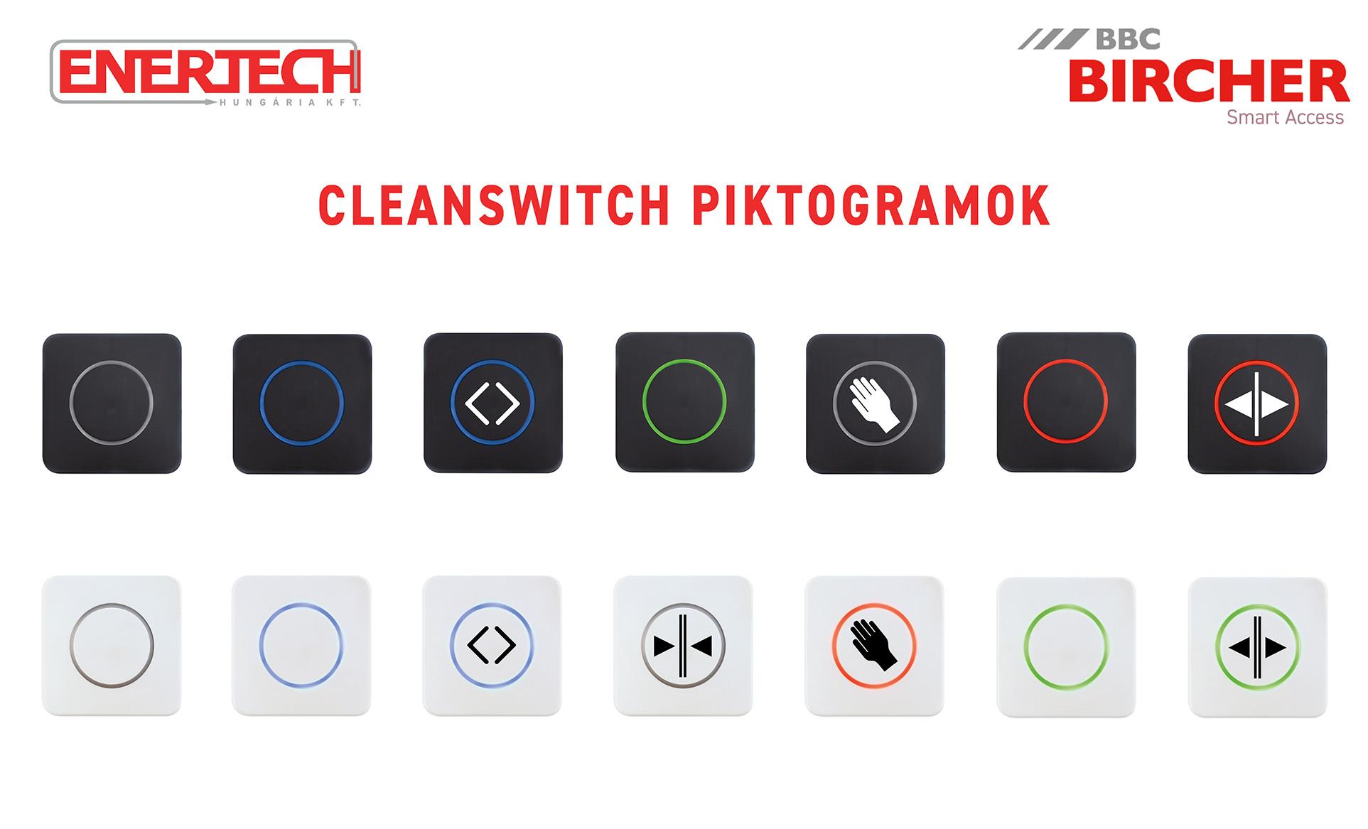 Cleanswitch érintésmentes kapcsoló